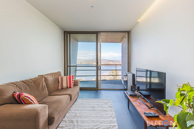 Modern one bedroom - with water views